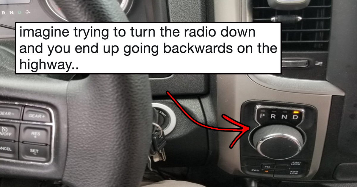 Is This Gear Shift The Dumbest Car Feature You've Ever Seen? Twitter Certainly Thinks So.
