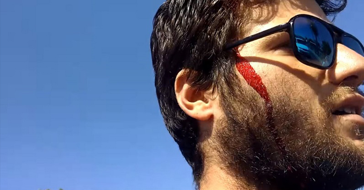 Homophobic Preacher Carrying 'You Deserve To Be Raped' Sign Gets A Baseball Bat To The Head