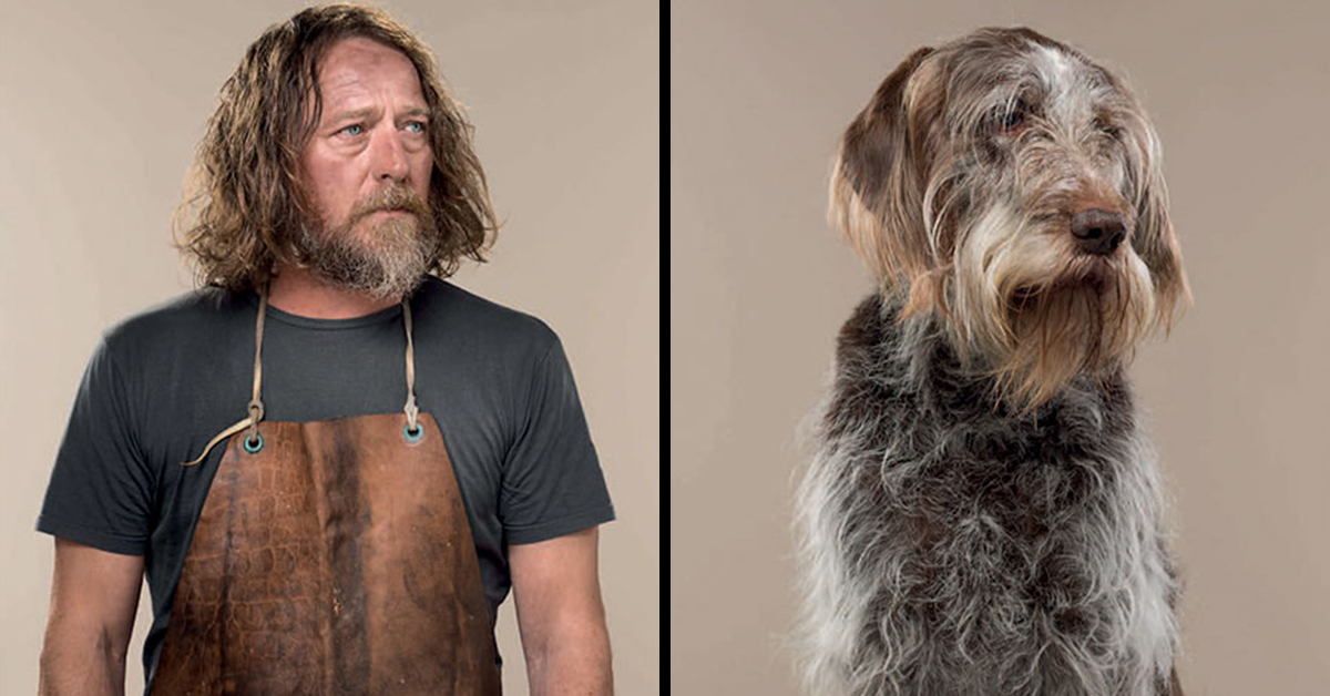 This Photographer Shot Dogs And Their Owners Side By Side, And They Look Hilariously Alike