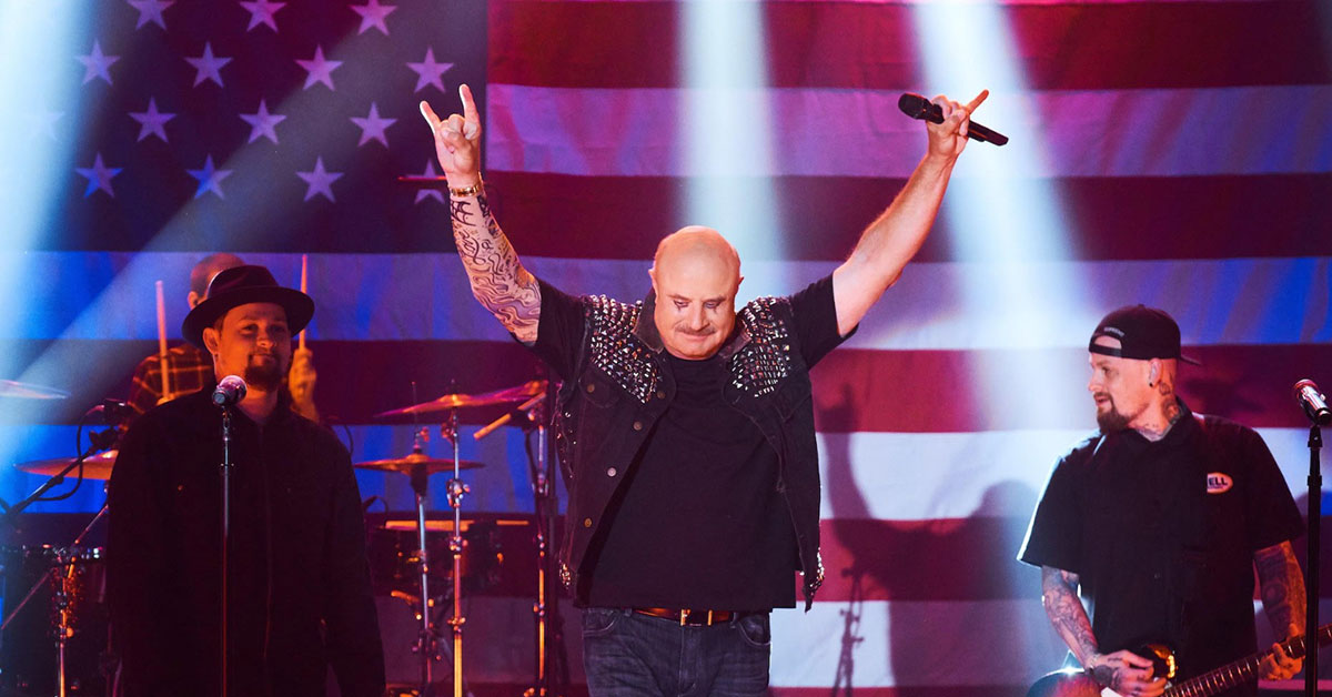 Dr. Phil Singing With Good Charlotte Is Exactly As Bad As It Sounds