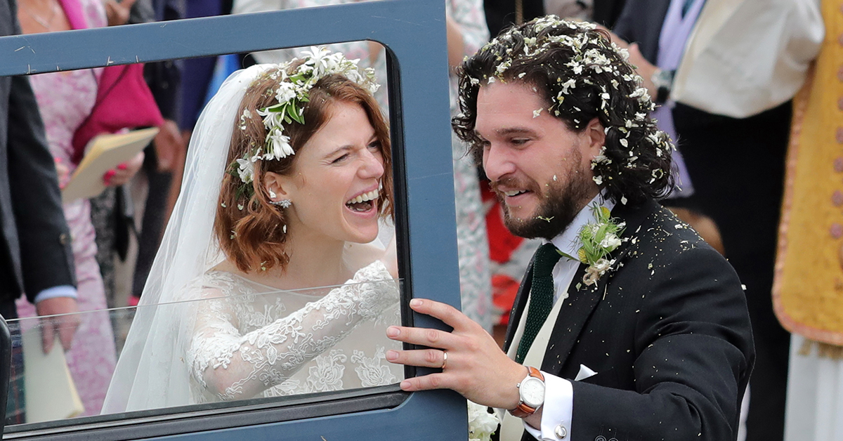 Kit Harington Said The Sweetest Thing About Rose Leslie And 'Game of Thrones' At The Emmys