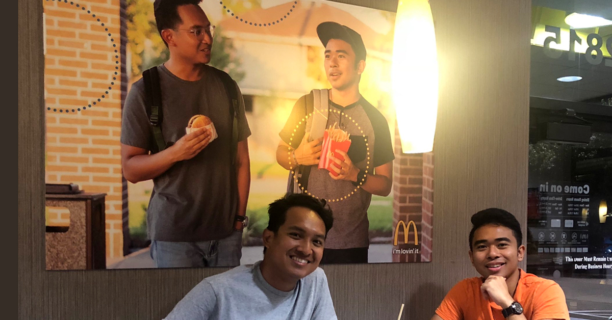 Two Legends Sneak A Fake Poster Of Themselves Into McDonald's To Make An Important Point About Equality