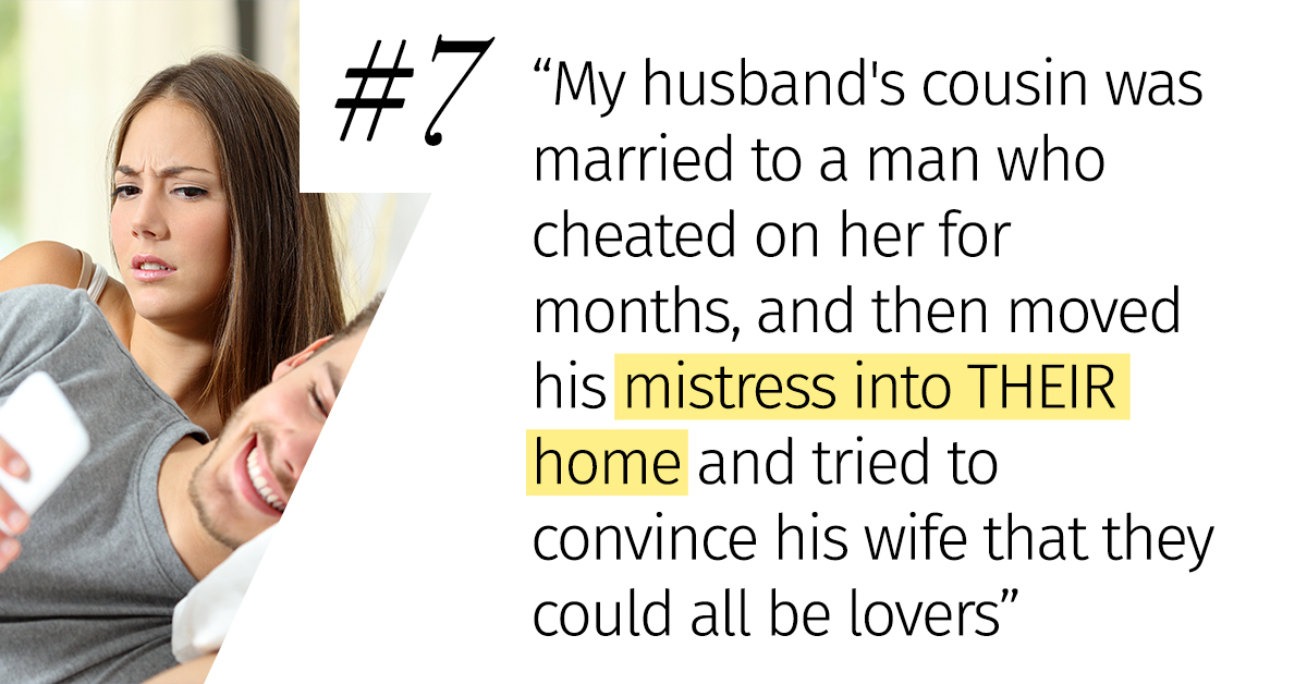 16 People Describe The Biggest Psychos And Losers Their Family Members Have Dated