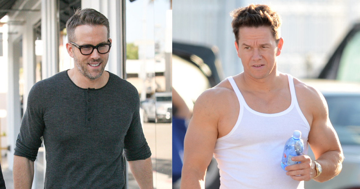 Ryan Reynolds Mocked Mark Wahlberg's Schedule With His Own Weirder One