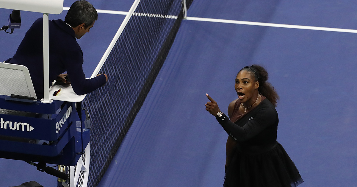 Serena Williams Calls Out Sexism In Tennis After Umpire Accuses Her Of Cheating